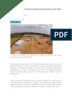 Aterro Sanitário Intermunicipal Deve Funcionar Em Julho Em Araguaína