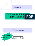 Topic 3 The Double Entry Framework.ppt