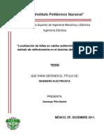 Deteccion Fallas Mediante Reflectología (TDR)