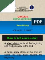 Journalism 8 Learner's Module K-12
