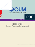BBDH4103 Human Resource Development