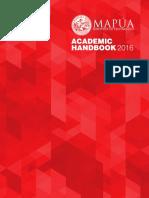 MAPUA UNIVERSITY Academic Handbook