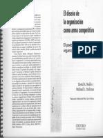 El Diseño de La Organización Como Arma Competitiva_ El Poder