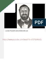 Luciano Pavarotti Canta Dicintencello Vuie
