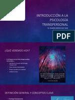Introducción a La Psicología Transpersonal