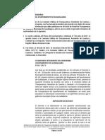 Dictamen Comisión Transparencia - Sitio de Transparencia Gdl