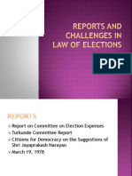 Challenges in Law of Elections