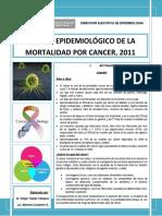 Boletin Cancer 2011-Tacna