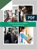 LibroEl Trabajo Domestico en MexicoLa Gran Deuda Social