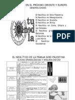 esquema prehistoria II uned