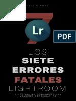 (eBook)+Los+Siete+Errores+Fateles+En+Lightroom