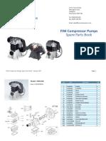 FINI Belt Compressor Spare_parts BK-114 and BK-119