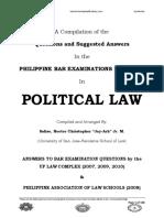 POLITICAL LAW-(JayArhSals) Bar QnA Compilation Final.pdf