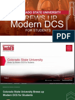 Rockwell Automation TechED 2017 - AP04 - Colorado State University Brews Up Modern DCS for Students