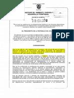 Decreto 1469 Licencias Urbanisticas