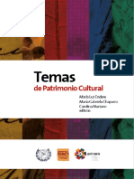 Temas de Patrimonio Cultural