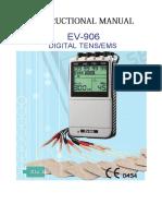 EV 906 Manual