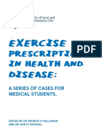 Exercise Prescription in Health and Disease Booklet