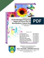 Perkembangan Pengelolaan Kekuasaan Negara di Pusat dan Daerah dalam Mewujudkan Tujuan Negara Indonesia.docx