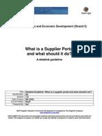 iSupplier Documentation