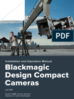 Blackmagic Cameras Manual