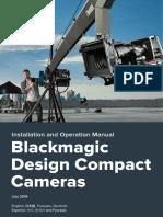 Blackmagic Cameras Manual