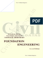 Foundation Engineering by Ralph B.peck, Walter E - By Civildatas.blogspot.in