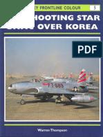 Osprey - Frontline Colour 005 - F-80 Shooting Star Units Over Korea