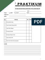 Senarai Semak Folder RPH Internship