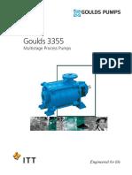Goulds 3355 Bulletin
