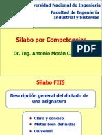 Silabos FIIS Agosto 2015
