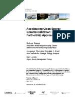 Accelerating Clean Energy NREL JISEA 65374