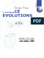 Notice de Réparation Lave-linge Top MALICE EVOLUTIONS