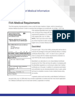 FAA Private Pilot Medical Information