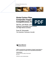 NREL ORNL 66071 Global Carbon Fiber Supply Chain