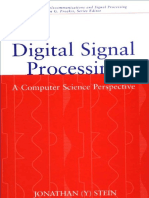 (Dsp) - Digital Signal Processing - A Computer Science Perspective (Wiley 2000)