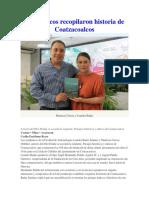 Académicos Recopilaron Historia de Coatzacoalcos