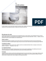 Bicarbonato de Sodio y Ácido Acético _ EHow en Español