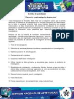 Evidencia 4 Propuesta Planeacion Para Investigacion de Mercados