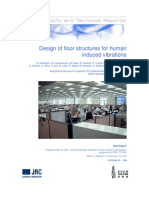 Design of Floor Structures for Human