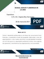 Efectos Fiscales Legales y Laborales de La UMA