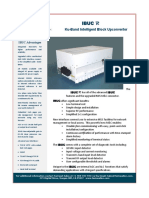 Terrasat IBUC R Ku-band Block Upconverter Data Sheet