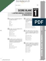 IAE CONCOURS test blanc 2017