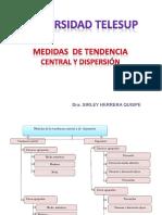 Medidas de Centralizaciòn y Dispersiòn