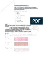 Systematic Approach to ECG