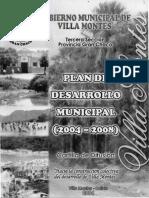 Villa Montes Desarrollo