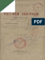 Việt Nam Văn Phạm 1940