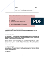 Avance 2 Indicaciones Rúbrica LabCom 1