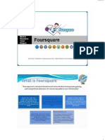 Market Research Project for Foursquare