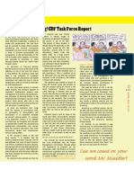 Missing! CDF Task Force Report